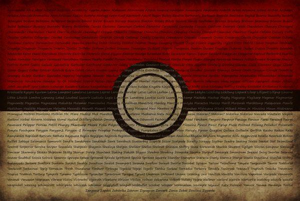 Pokemon Poster Full List of First Pokemon Generation 1