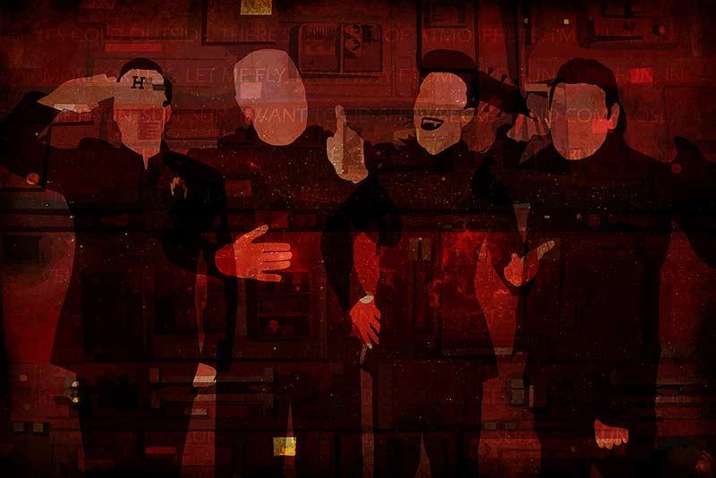 Red Dwarf Crew Poster