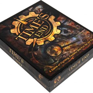 Time's End Board Game Box Design