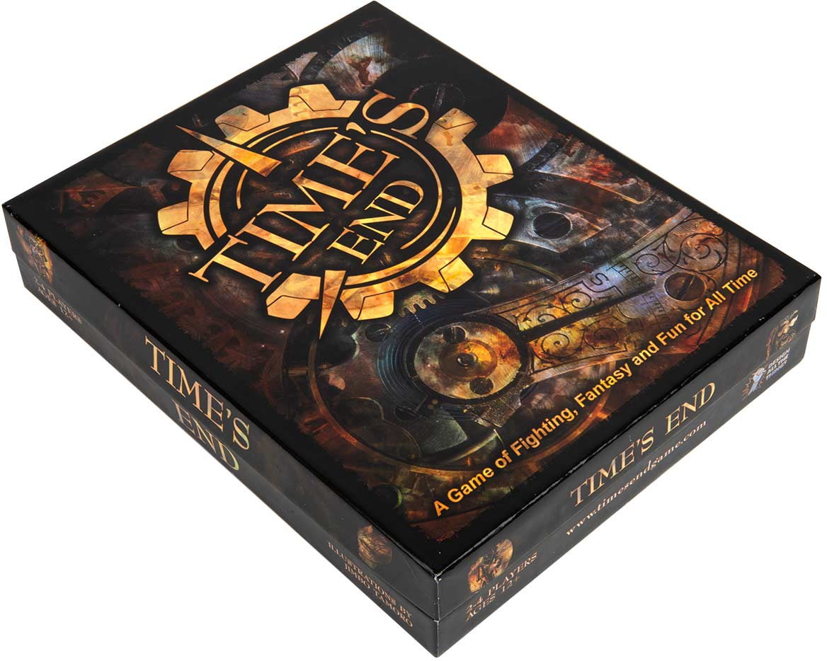 Time's End Board Game Box Design