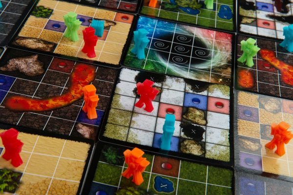 Time's End Game Board Game Closeup