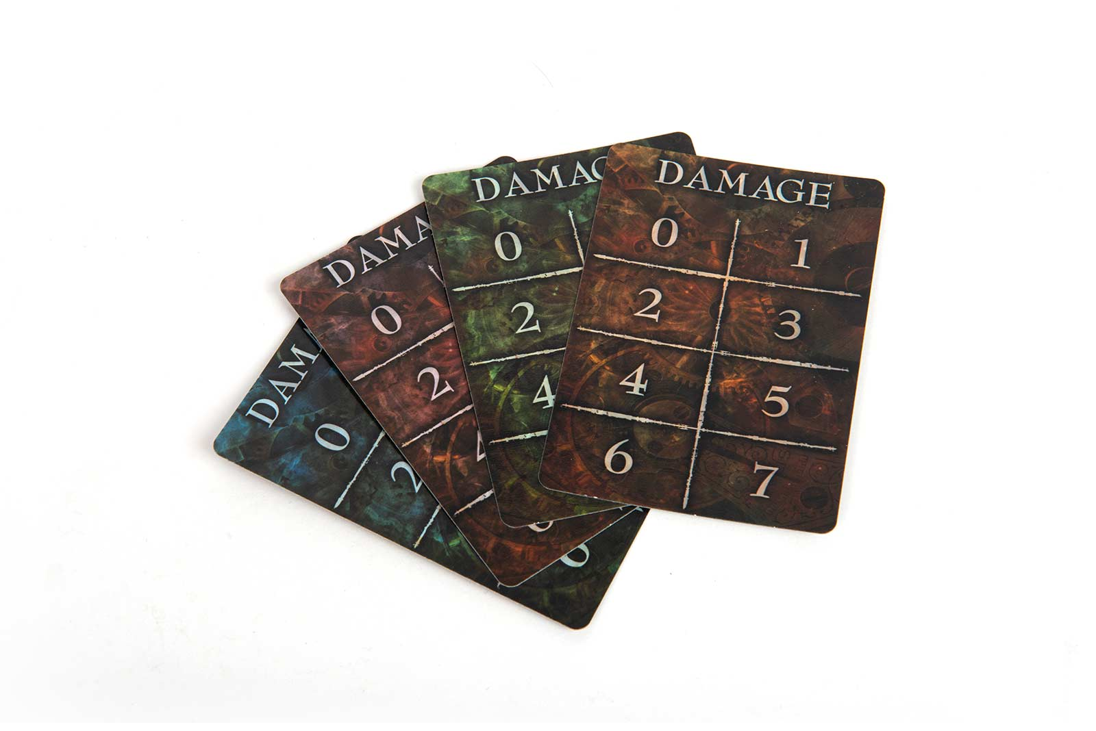 Time's End Game Board Game Damage Cards