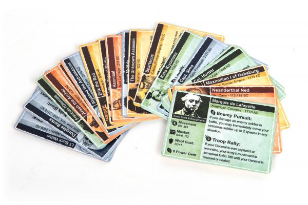 Time's End Game Board Game Spirit Cards