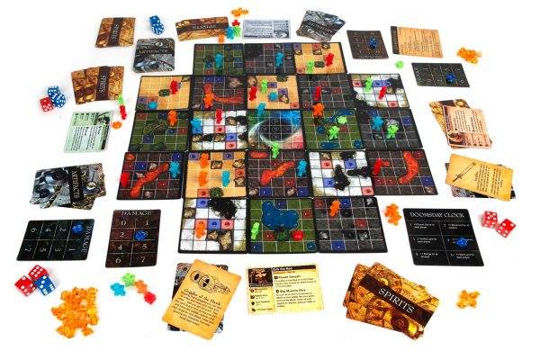 Time's End Game Board Game Setup