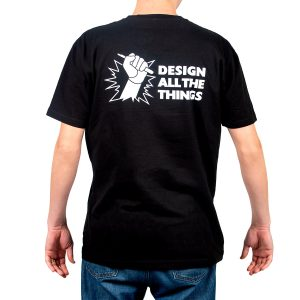 design all the things back shirt design