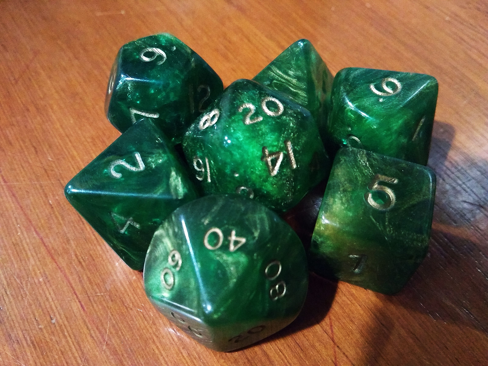 dnd selfie first dice set