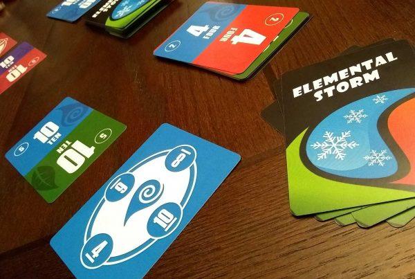 elemental storm card game playtesting