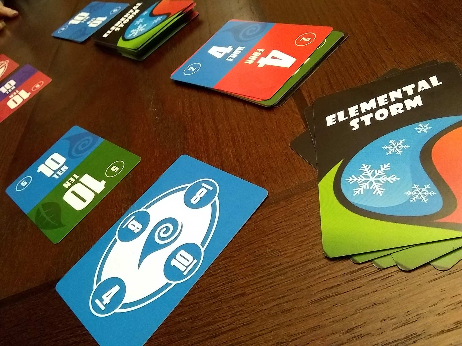 elemental storm card game playtesting