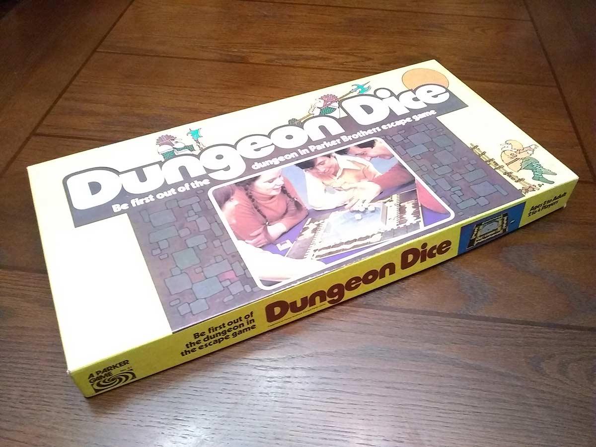 dungeon dice board game box