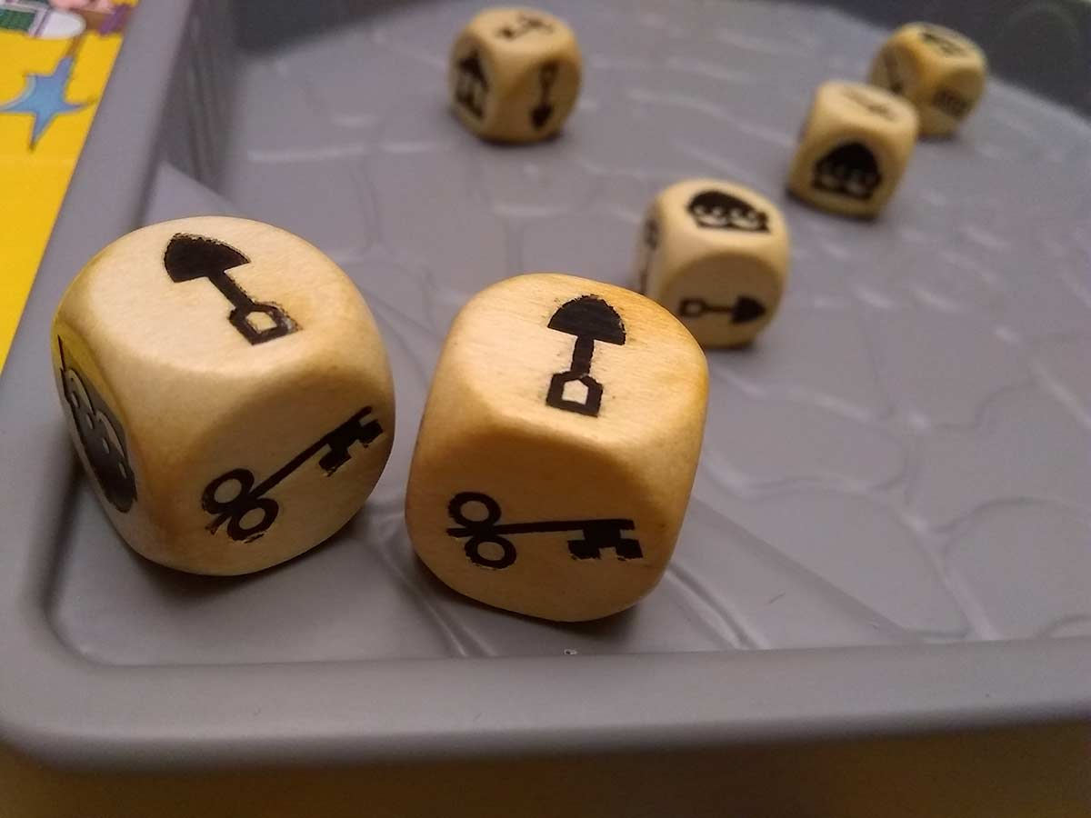 dungeon dice board game wooden dice