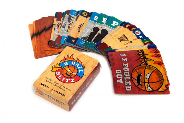 B-Ball Blitz Family Fun Party Card Game