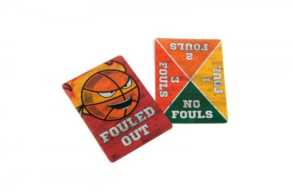 B-Ball Blitz Family Party Game Foul Cards