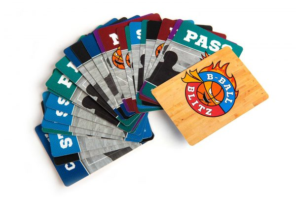 B-Ball Blitz Family Party Game Action Cards