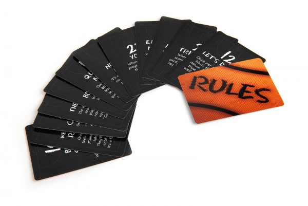 B-Ball Blitz Family Party Game Rule Cards