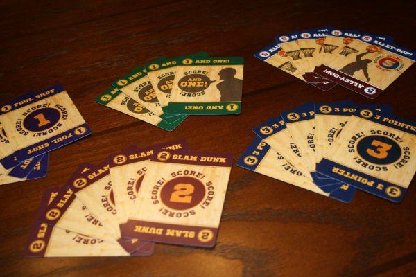 B-Ball Blitz Scoring Cards
