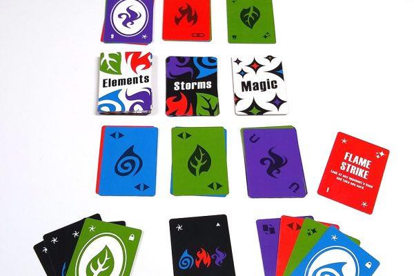 Elemental Storm 2 Player Setup