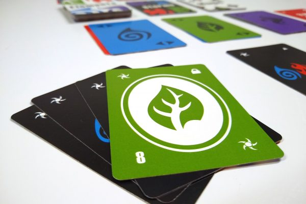 Earth Elemental Storm Card