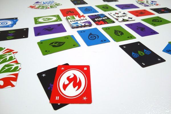 Fire Elemental Storm Card