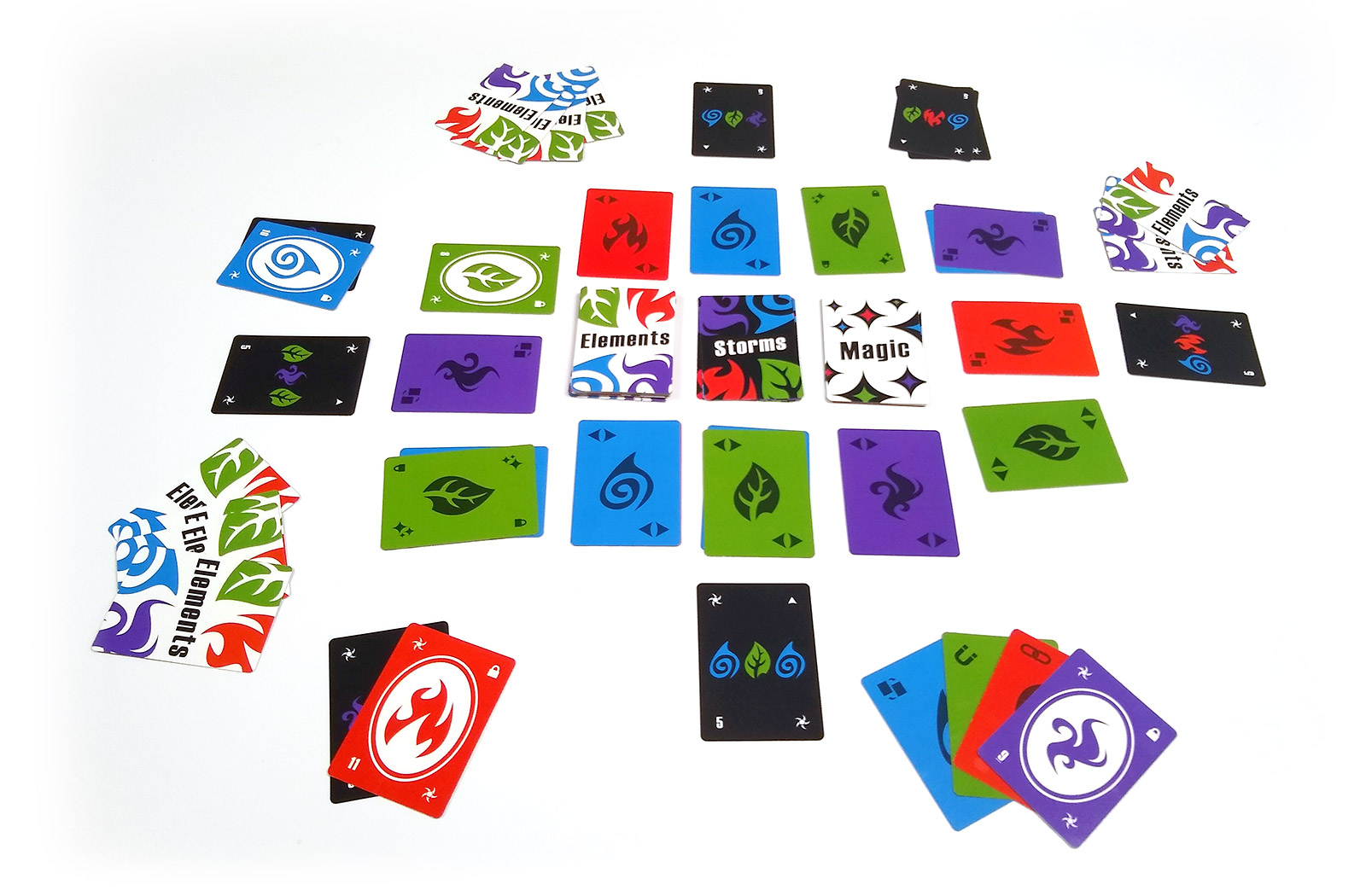 Elemental Storm - Magical Card Game of Strategy and Matching